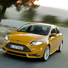 The Focus ST is going on sale now