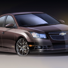 The Cruze Upscale imagines a more luxurious Cruze