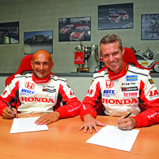 Monteiro and Tarquini both have extensive racing experience