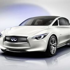 The Etherea will inspire the look of the new Infiniti