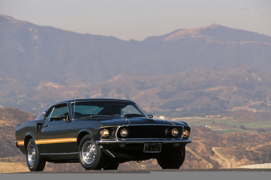 Ford Mustang Mach Large