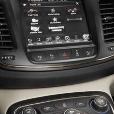 Chrysler's Uconnect system with an 8.4in screen is an option
