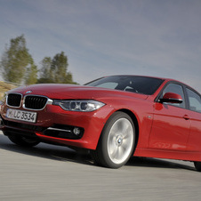 BMW 320d EfficientDynamics Sport Line AT