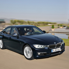BMW 320d EfficientDynamics Luxury AT