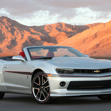 Chevrolet Camaro Convertible Commemorative Edition