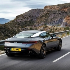 The DB11 was designed with the leadership of Marek Reichman