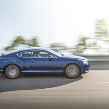 Bentley's new Continental GT Speed with 617hp and 800Nm of torque was unveiled at the 2012 Goodwood Festival of Speed.