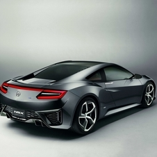 Honda has not announced official power specs or a price for the NSX