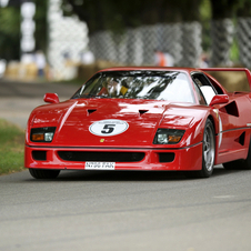 Throughout its production run, the F40 was the most powerful, expensive and fastest Ferrari on sale.