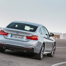 The new BMW 4 Series Gran Coupé offers a choice of five powerful and efficient engines
