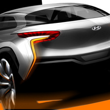Hyundai has only teased the Intrado as a rendering so far