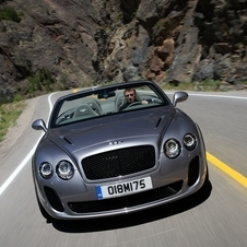 The Bentley Supersports provides a great balance for road driving.