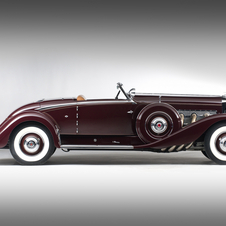 Duesenberg SJ Convertible Coupe by Walker-LaGrande