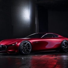 Fitted under the bonnet RX-Vision is the new SkyActiv-R, a new-generation rotary engine