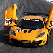 The Sprint GT is McLaren's entry into the track car market
