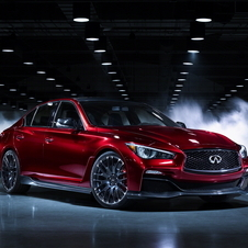 The Q50 Eau Rouge shows Infiniti's idea of a sportier Q50