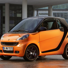 smart fortwo nightorange coupé 1.0 mhd