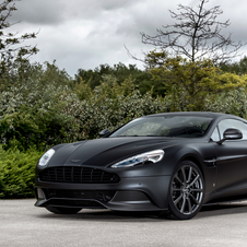 Aston Martin Vanquish Q by Aston Martin One of Seven