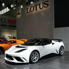 Lotus Evora GTE China