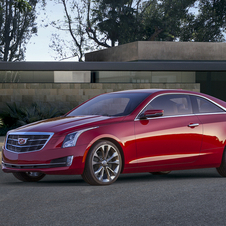 The ATS Coupe gets a unique roof, rear fenders and rear