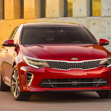 In the US market the new Optima will be available with three engines