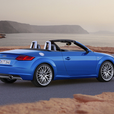 Two different four-cylinder engines are offered with the Roadster variant