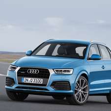 The new Q3 maintains a three TFSI and three TDI clean-diesel four-cylinder engine
