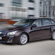 The Cruze station wagon is coming to continental Europe