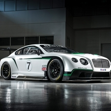 The Continental GT3 sheds 1020kg over the Continental GT road car