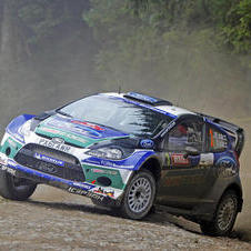 Latvala dominated the Rally Great Britain and ended Loeb's winning streak