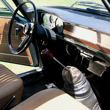 The interior was spartan but stylish and usable