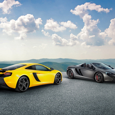 The sports car will be initially available in Hong Kong in Coupé and Spider bodystyles