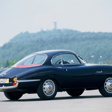 The Sprint Speciale was built from 1963 to 1965