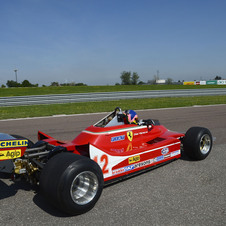 A six-wheeled 312 T6 was built but never raced