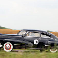 The 1942 Series 62 won the rally last year and will return this year