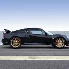 the Exige LF1 gets the same V6 Supercharged 3.5-liter engine with 350PS and 400Nm of torque
