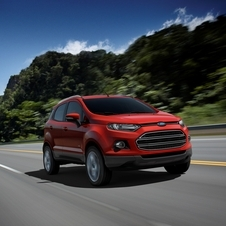It is Ford's entry into the small SUV market
