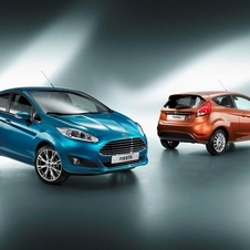 The updated Fiesta get's the Mondeo's nose