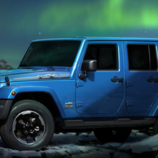 The Polar Edition is based on the top Wrangler Sahara