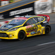 Ford Fiesta ST Rockstar Energy Drink Race Car