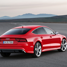 The RS7 Sportback reaches 100km/h in 3.9 seconds and a limited top speed of 250km/h