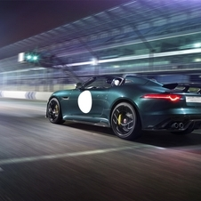 The super-roadster F-Type Project 7 will become the first project of Special Vehicle Operations