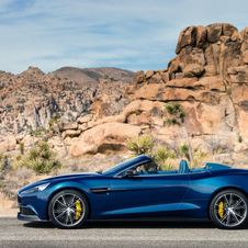 The Vanquish Volante will go on sale at the end of the year