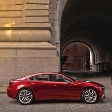 The Takeri concept as it turns out is almost identical to the next Mazda6