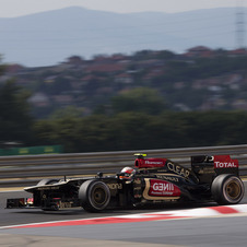 Lotus has been third fastest in both Friday practice sessions