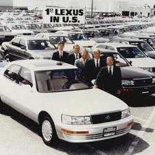 The first Lexus in the US, 1989