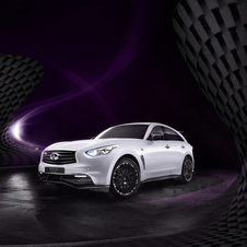 L'Infiniti FX Vettel Edition est la version de SUV la plus exclusive au monde.