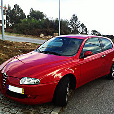 Alfa Romeo 147 1.6 Twin Spark Progression