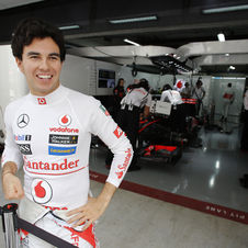 He drove for Sauber for two seasons before that