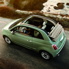 Fiat 500C 1.2 8v New Lounge Dualogic